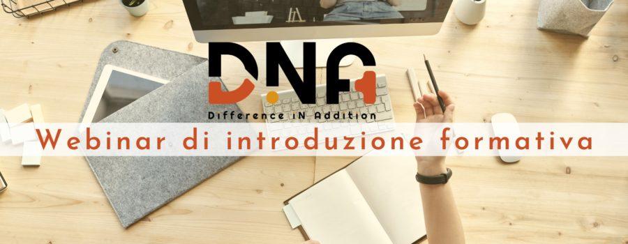 Online 3 webinar di introduzione formativa