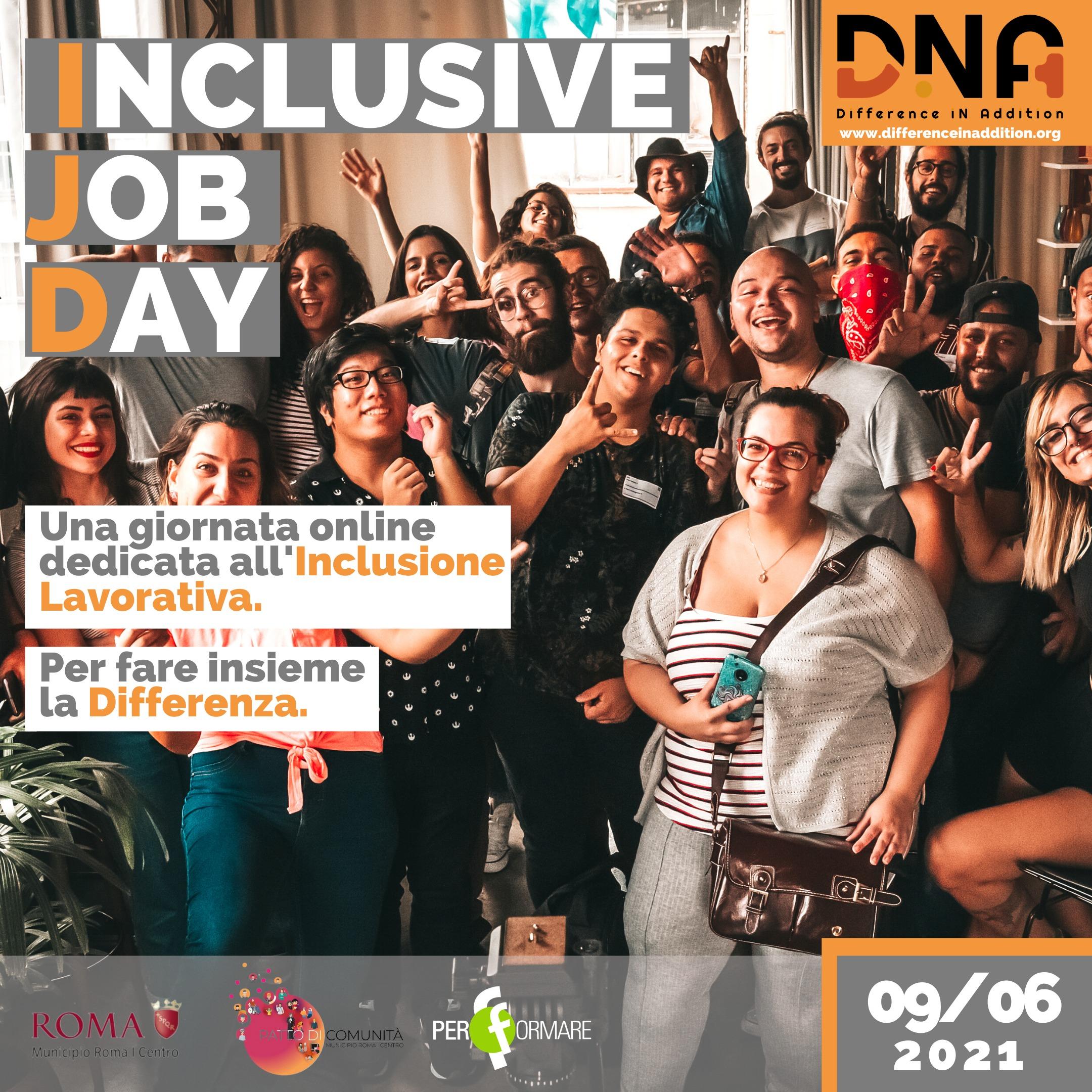 Inclusive Job Day Dna
